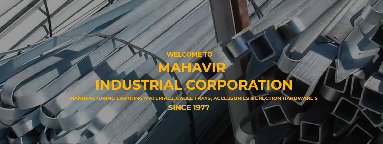 Mahavir Industrial Corporation banner